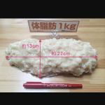 脂肪1キロ
